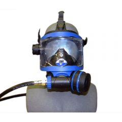 GRD-BU BLACK SKIRT/ BLUE FRAME FRONT VIEW