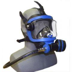 GRD-BU BLACK SKIRT/ BLUE FRAME SIDE VIEW