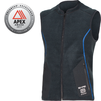 SB System Mid Layer Vest- Male