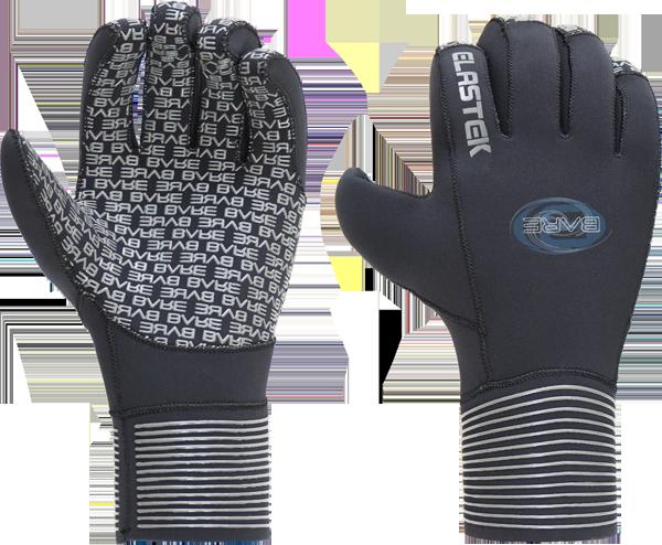 3MM Elastek Five-Finger Glove - Unisex