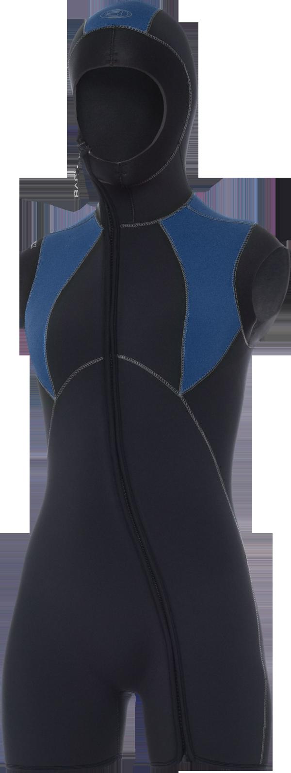 7mm Elastek Step-In Hooded Vest - Women (2011)