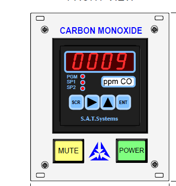 DPM72 CO Carbon Monoxide Analyser