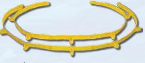 "Flex Straps 3"" X 10' (2/Set)"