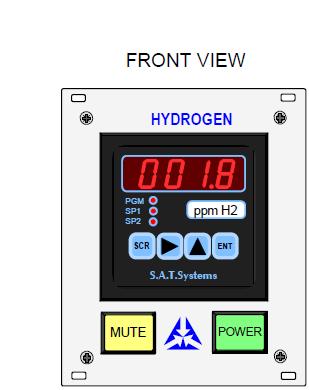 DPM72 H2 Hydrogen Analyser