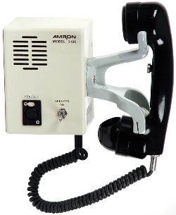Amron Model 3126 Outer-Lock Combo Box with Sound Powered Phone