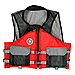 FIRST WATCH AV-400 CONTENDER REC MESH VEST RED/GREY