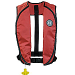 MUSTANG SUPER LIGHTWEIGHT AUTO INFLATABLE VEST RED