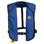 MUSTANG SUPER LIGHTWEIGHT AUTO INFLATABLE VEST ROYAL BLUE