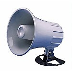 "Standard Horizon 4.5"" Round Hailer/PA Horn - White"