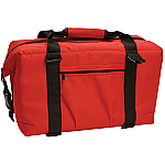 NorChill 24 Can Soft Sided Hot/ Cold Cooler Bag - Red