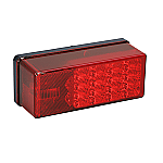 """WESBAR 3"""" X 8"""" LED WATERPROOF 7- FUNCTION TAIL LIGHT RIGHT OVER 80"""""""