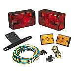 "WESBAR SUBMERSIBLE OVER 80"" TAILLIGHT KIT W/ SIDEMARKERS"