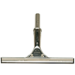 """SHURHOLD 10"""" STAINLESS STEEL SQUEEGEE"""
