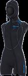 5MM Sport Step-In Hooded Vest - Women