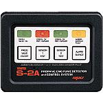 Xintex 2 Channel Propane Detector - Square Bezel - Plug In Sensor