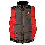 Mustang Integrity Flotation Vest- Red/Carbon