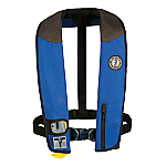 MUSTANG DELUXE AUTOMATIC ADULT INFLATABLE W/HARNESS RY/BK/CR