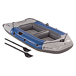 SEVYLOR COLOSSUS 3 PERSON INFLATABLE BOAT W/ OARS