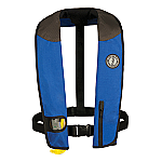 MUSTANG DELUXE MANUAL ADULT INFLATABLE UNIVERSAL RY/BK/CR