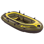 SEVYLOR FISH HUNTER 4 PERSON INFLATABLE BOAT