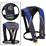ONYX M 24 IN-SIGHT MANUAL INFLATABLE LIFE JACKET BLUE