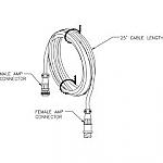 TC-25 Transducer cable