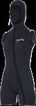 5mm Velocity Step-In Hooded Vest - Women