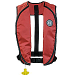 MUSTANG SUPER LIGHTWEIGHT INFLATABLE VEST RED