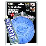 Flitz Plastic Eisenglass & Fiberglass Restoration Kit