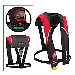 ONYX A/M 24 IN-SIGHT AUTOMATIC INFLATABLE LIFE JACKET RED
