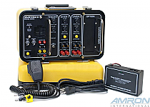 Amcom II 2-Diver Deluxe Portable Rechargeable with Gel Cell Batteries & Charger