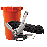 SCOTTY ANCHOR PACK W/ 1.5 LB ANCHOR & 50' LINE WATERTIGHT