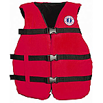 MUSTANG UNIVERSAL FIT VEST RED
