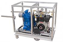 Quincy 325 Climate Control LP Compressor-Yanmar Diesel