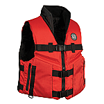 MUSTANG ACCEL 100 FISHING VEST RED/BLACK