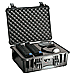 PELICAN 1550 CASE WITH PADDED DIVIDERS BLACK