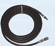 """3/8"""" X 50' Hose With Stainless Steel Quick Disconnect"""
