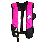 MUSTANG DELUXE AUTO INFLATABLE PINK AND BLACK