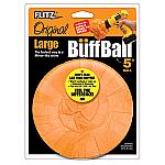 "FLITZ BUFF BALL LARGE ORANGE 5"" DIAMETER"