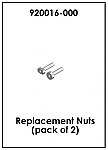 Replacement Nuts (Pack of 2)