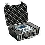 PELICAN 1520 CASE WITH PADDED DIVIDERS BLACK