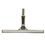 """SHURHOLD 12"""" STAINLESS STEEL SQUEEGEE"""