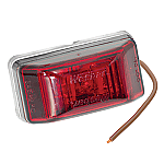 WESBAR LED CLEARANCE-SIDE MRKR LIGHT RED #99 SERIES