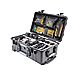PELICAN 1510 CASE WITH PADDED DIVIDERS BLACK