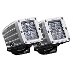 RIGID INDUSTRIES M-SERIES DUALLY D2 LED PAIR DIFFUSED