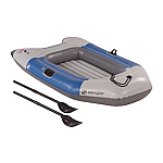 SEVYLOR COLOSSUS 2 PERSON INFLATABLE BOAT W/ OARS