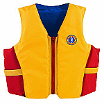 MUSTANG YOUTH FLOATER VEST  50-90 LBS GD/RD